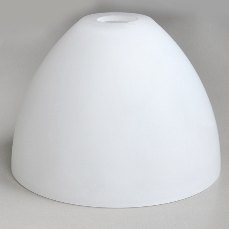 glas lampenschirm 16x11 5cm wei matt e14 n 7 darlux. Black Bedroom Furniture Sets. Home Design Ideas