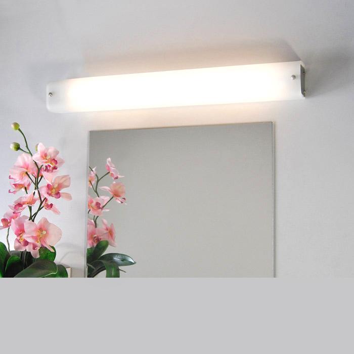 luce sopra mobile : Lampada Per Sottopensile 60cm Luce Bagno Parete Vetro Specchio Honsel ...