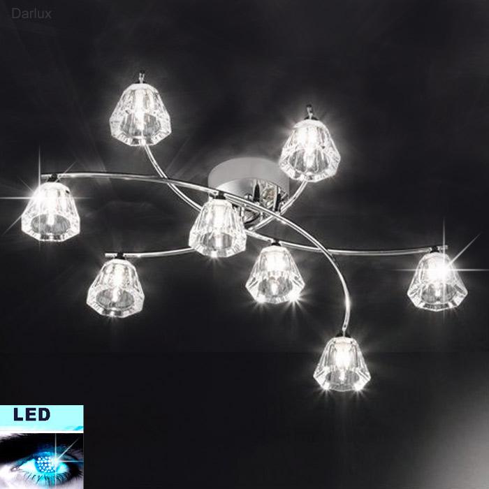 LED Deckenleuchte Honsel Leuchten 27448 mit 8x 2,2W G9 LED
