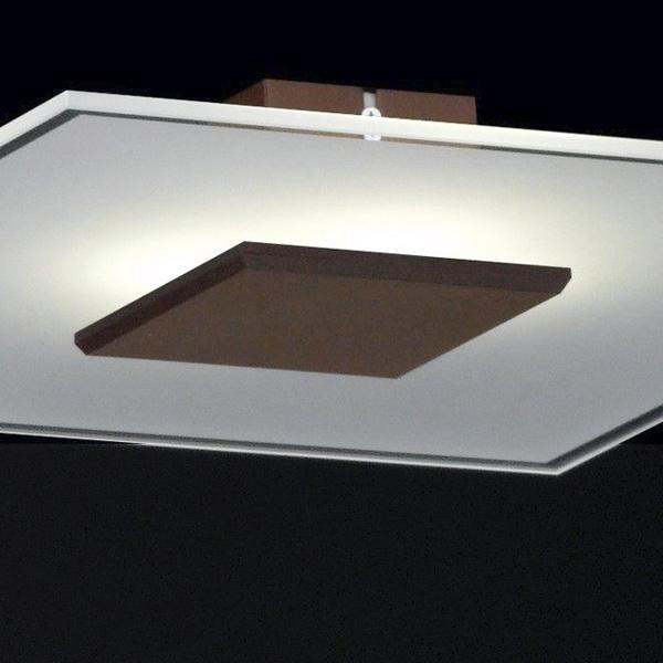 deckenleuchte led deckenlampe wandleuchte 28914 honsel leuchten loder rostfarbig ebay. Black Bedroom Furniture Sets. Home Design Ideas
