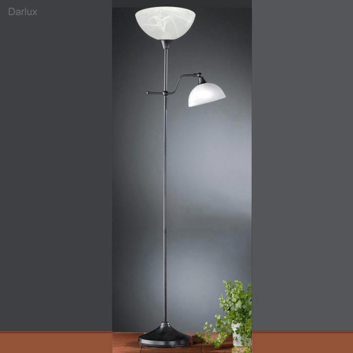 stehleuchte deckenfluter stehlampe 42562 honsel leuchten rostfarbig led m gl ebay. Black Bedroom Furniture Sets. Home Design Ideas
