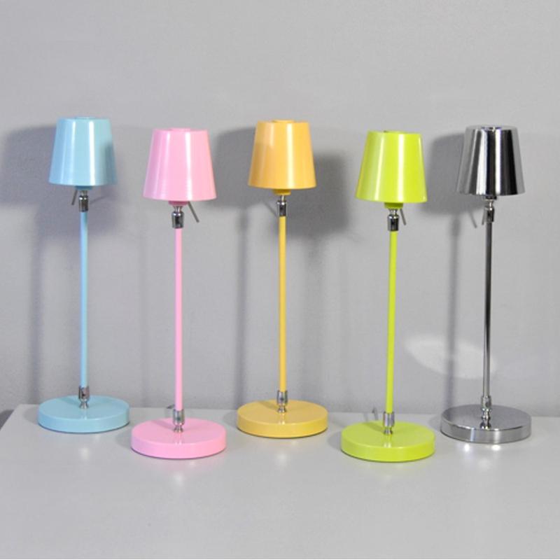 Lampe de table 440mm honsel bleu clair lampe de chevet - Lampe de chevet bleu ...