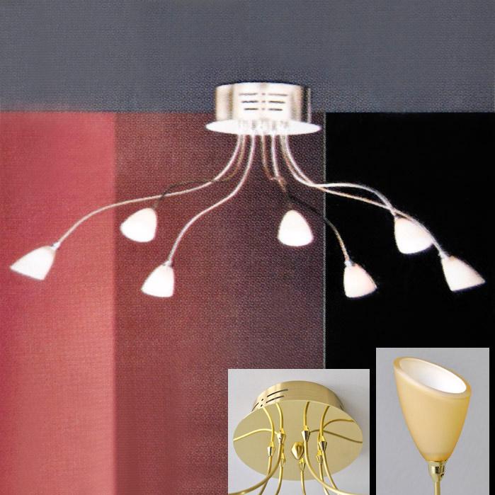 luxus deckenleuchte arme biegsam deckenlampe h ngeleuchte. Black Bedroom Furniture Sets. Home Design Ideas