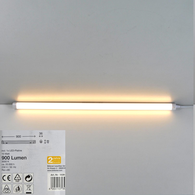 2026-206 Briloner  LED Unterbauleuchte mit Schalter und Stecker