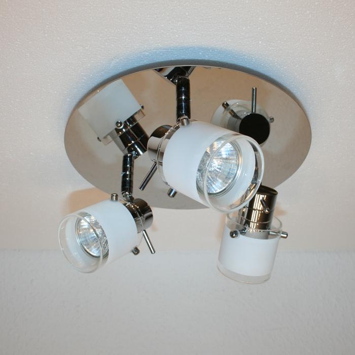 badleuchte badezimmer lampe 3 flg chrom ip44 badlampe briloner deckenlampe ebay. Black Bedroom Furniture Sets. Home Design Ideas