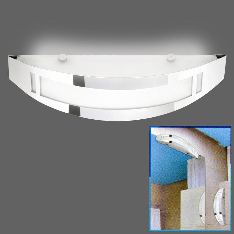 chrome verre salle de bain miroir lumineux lampe murale design bain led possible ebay. Black Bedroom Furniture Sets. Home Design Ideas