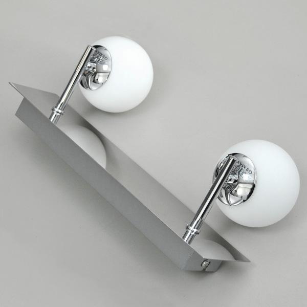 Chrome verre salle de bain miroir lumineux lampe murale for Force de miroir ebay