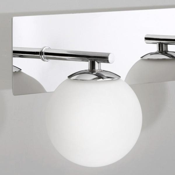 chrome verre salle de bain miroir lumineux lampe murale design bain led ebay. Black Bedroom Furniture Sets. Home Design Ideas
