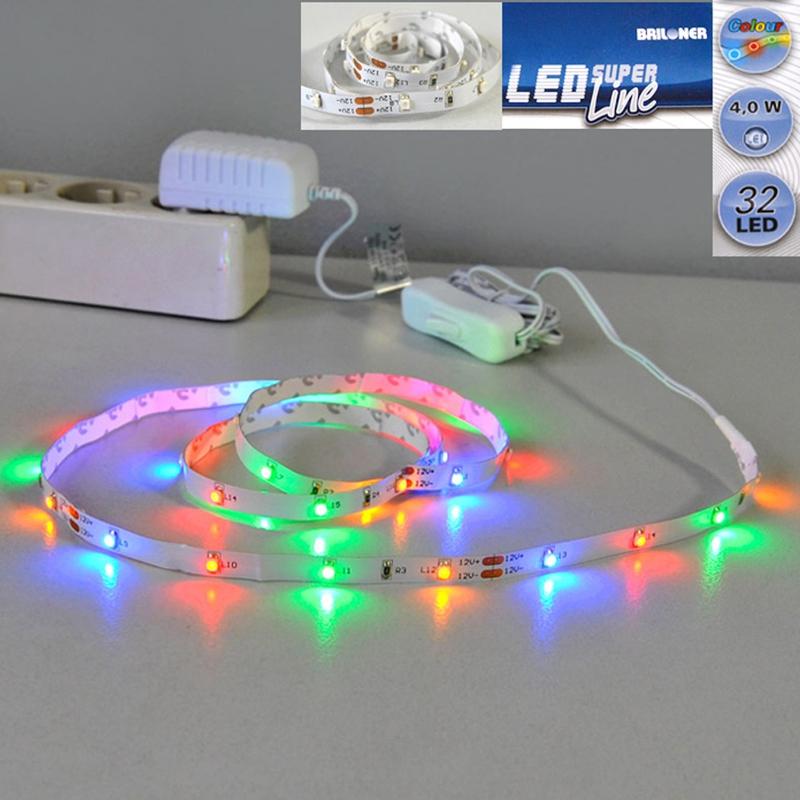 LED Lichtband farbig 1m Briloner Super Line 2339-032