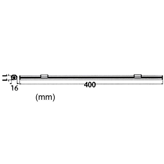 briloner led lichtleiste 40cm briloner 2423 150d mit trafo darlux. Black Bedroom Furniture Sets. Home Design Ideas