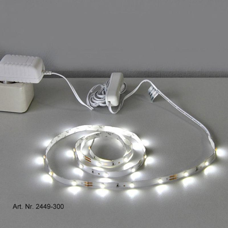 led lichtband strips leuchtband streifen briloner leiste lichtleiste zu 2449 300 ebay. Black Bedroom Furniture Sets. Home Design Ideas