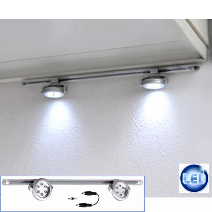 wandleuchte led wandlampe spot leseleuchte schalter stahl glas citizen power led ebay. Black Bedroom Furniture Sets. Home Design Ideas