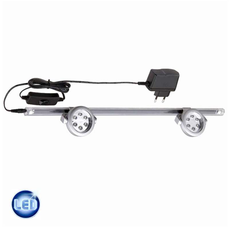 LED Lichtleiste 40cm Briloner 34429512 2396-120 D Cook & Light Trafo