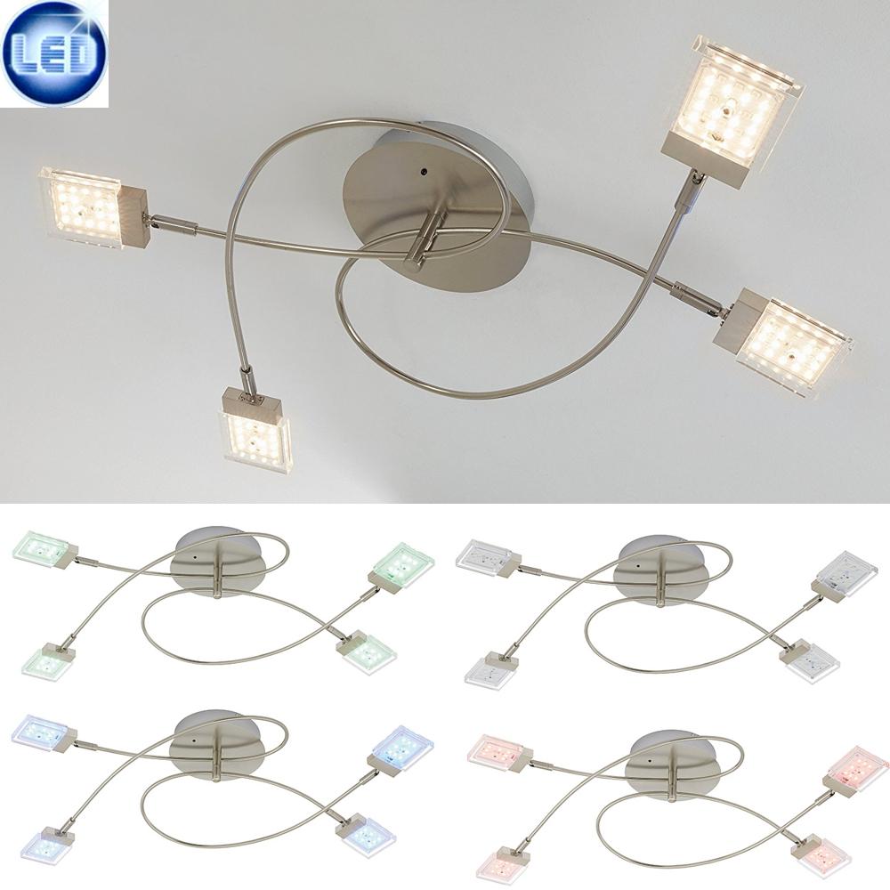 LED Deckenleuchte Briloner 59723403  Deckenlampe 4x3,6W Farbwechsel