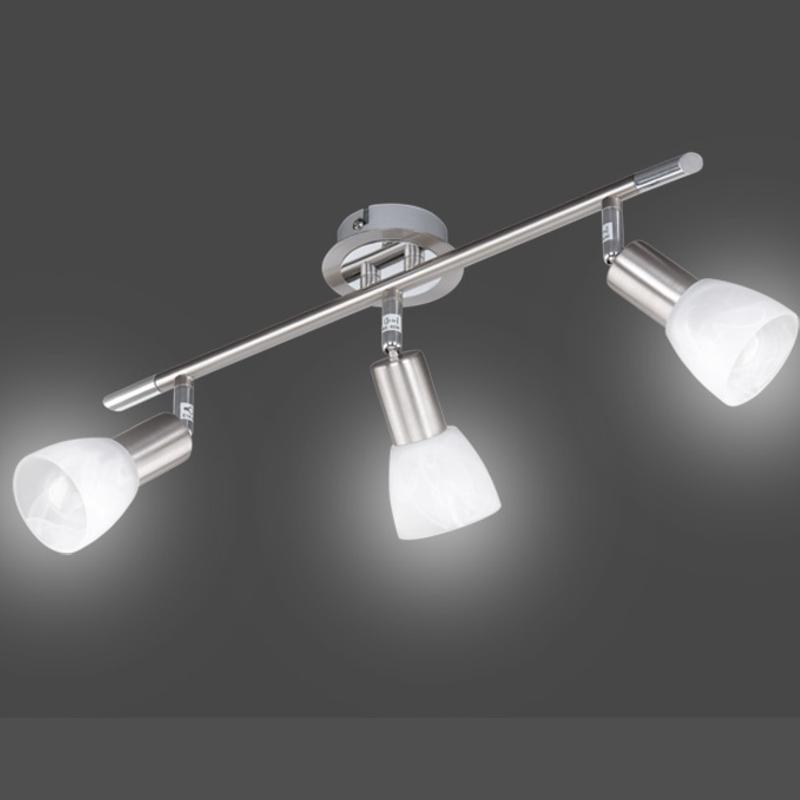 Deckenleuchte briloner leuchten deckenlampe led geeignet for Deckenlampe lang