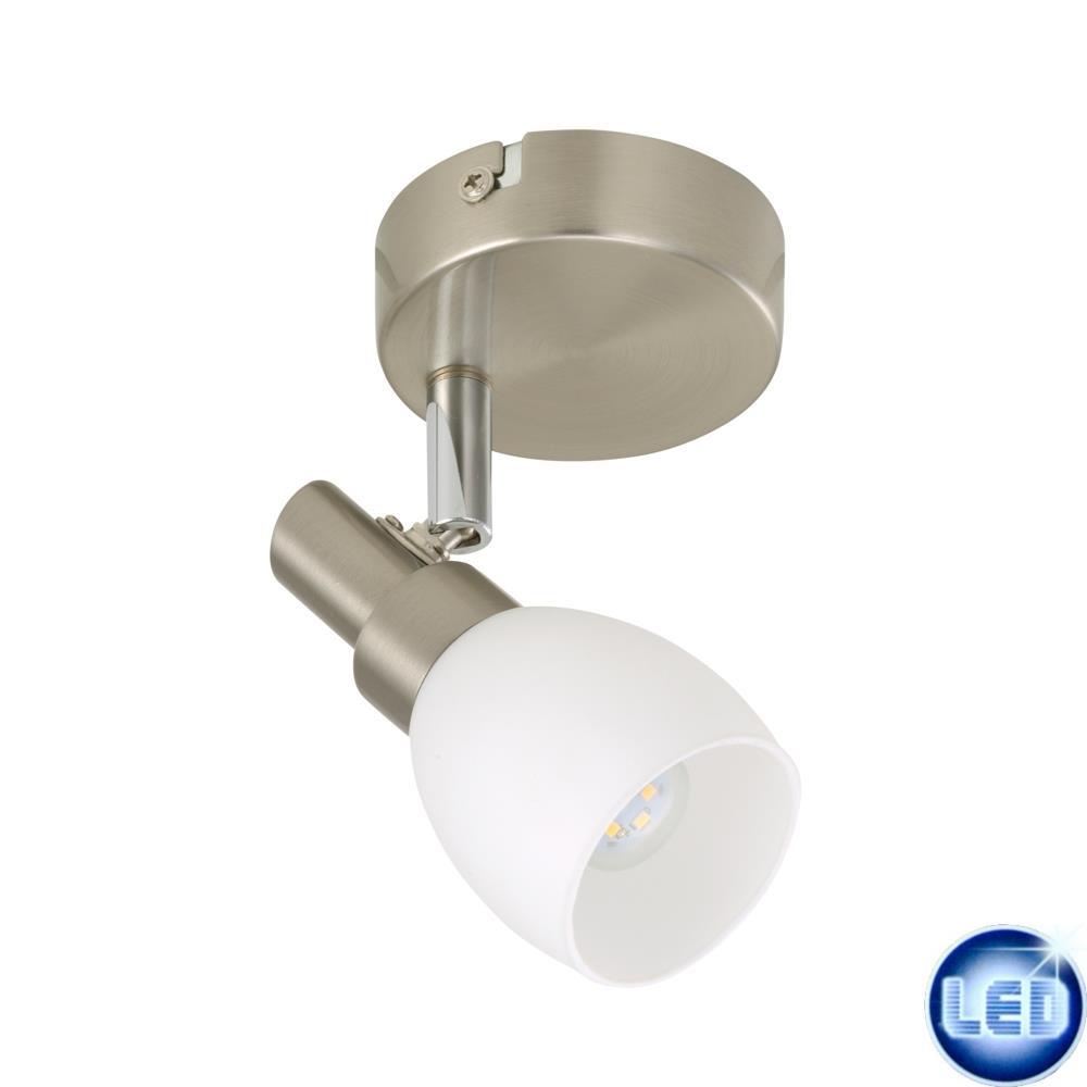 LED 3W Wandleuchte Spot Deckenleuchte Briloner 2797-012 Matt-Nickel