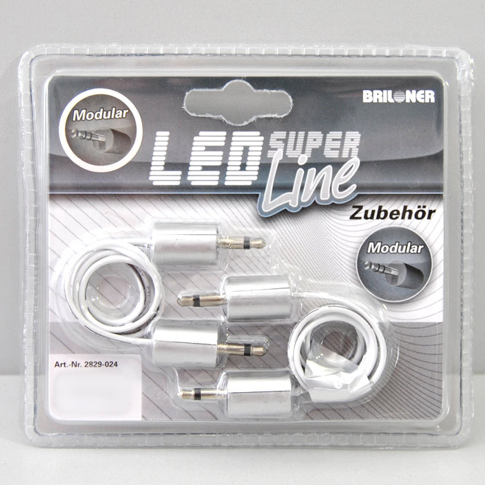 2-Set Verbindungselement Briloner 2829-024 Super Line Modular