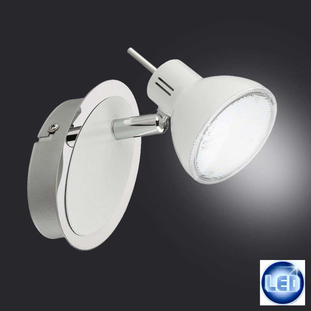 Briloner Leuchten 2834-016 LED Spot Lampe 4 Watt  Strahler weiß/chrom