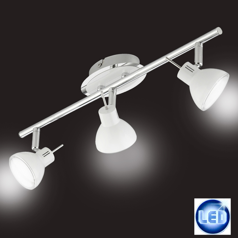 LED Deckenleuchte Deckenlampe Spot Briloner 2834-036 3x4W warmweiß