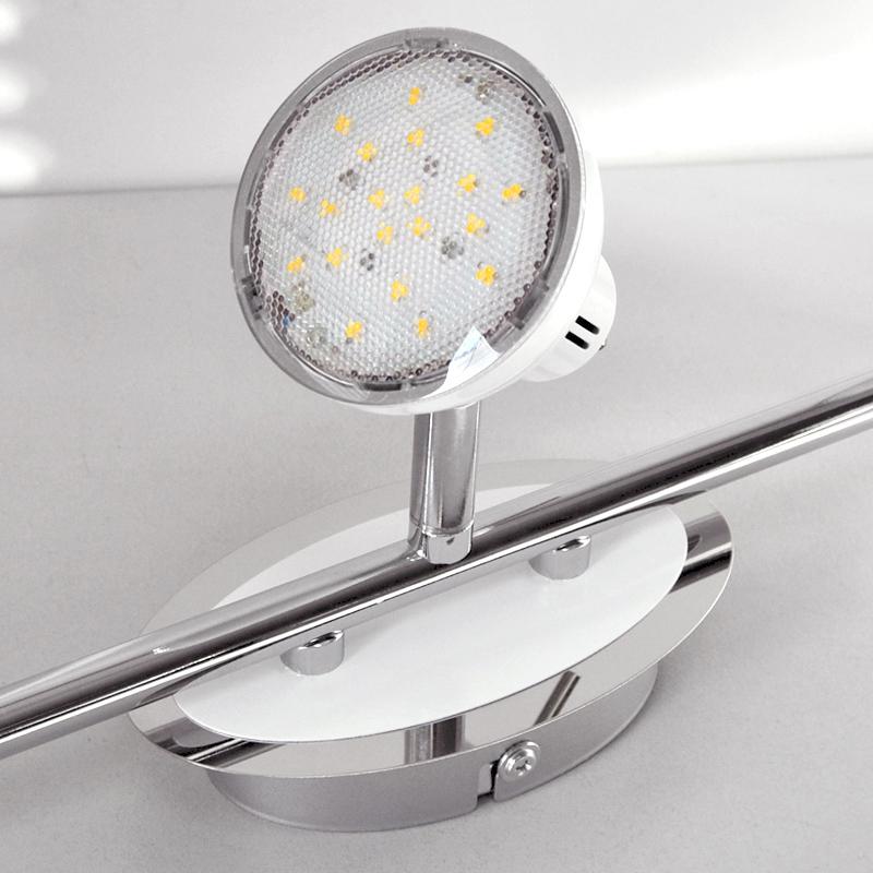 led deckenleuchte spot leiste briloner 2834 036 strahler decken lampe ip20 ebay. Black Bedroom Furniture Sets. Home Design Ideas