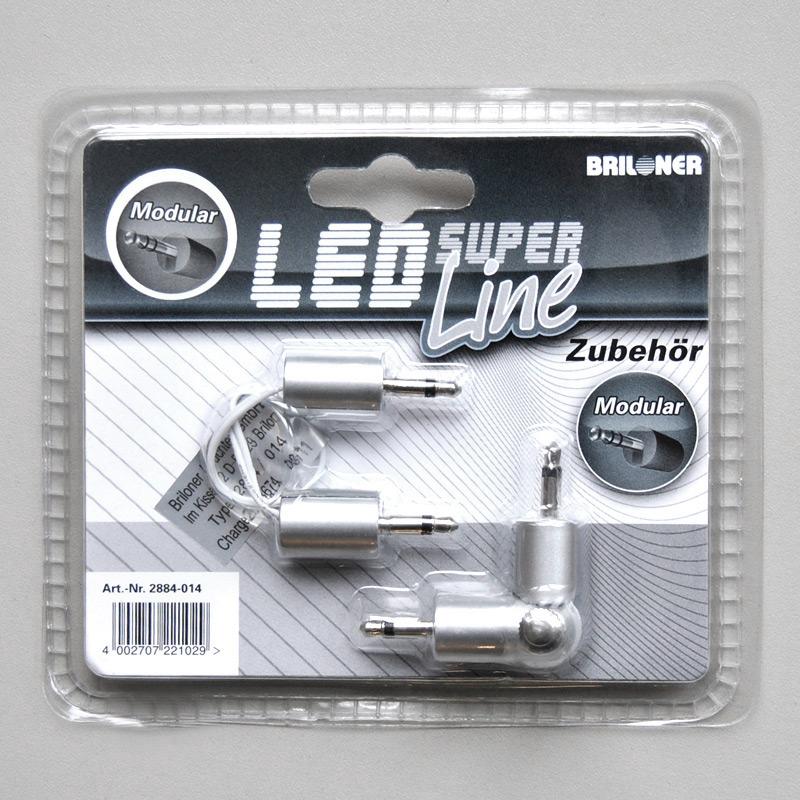 Winkelverbinder und Kabelverbinder Briloner 2884-014 Modular