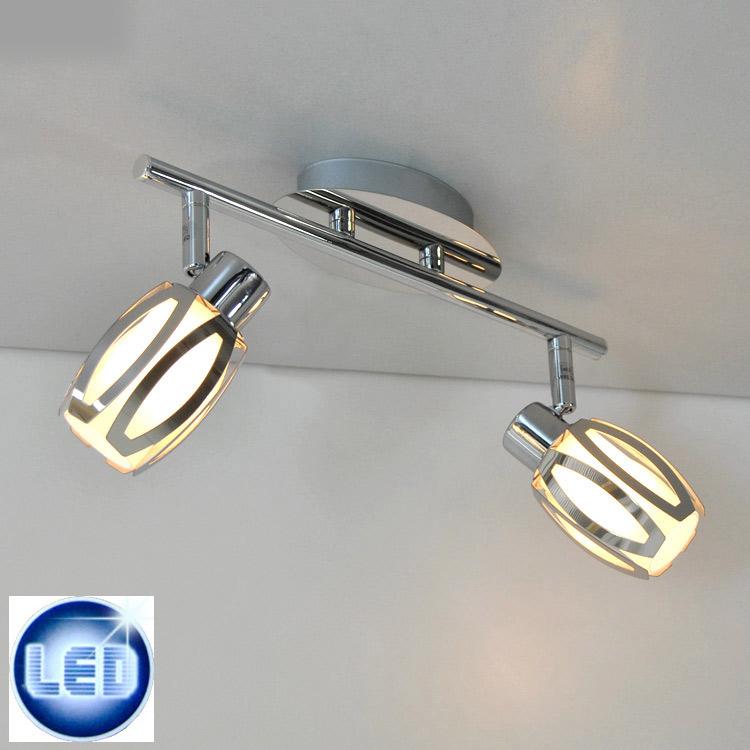 LED Deckenleuchte Briloner 46909867 mit 2x 5W G9 LED