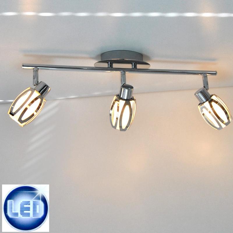 LED Deckenleuchte Briloner 42523320 mit 3x 5W G9 LED