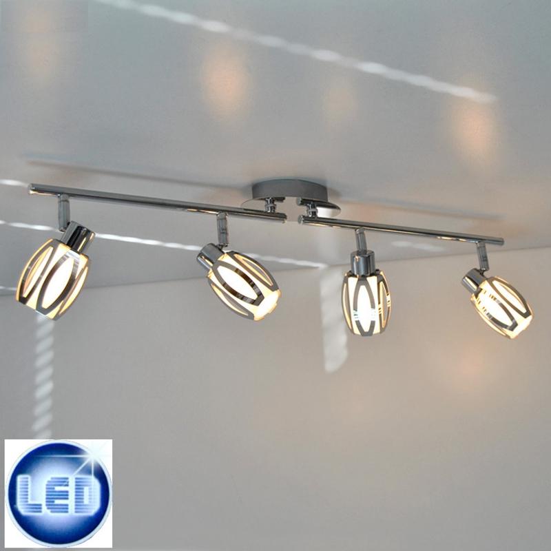 LED Deckenleuchte Briloner 42523321 mit 4x 5W G9 LED