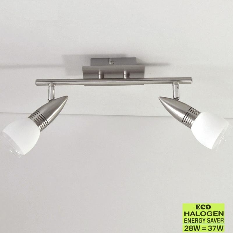 Deckenleuchte Wandleuchte Briloner 2948.022 mit 2x 33W G9 Eco-Halogen