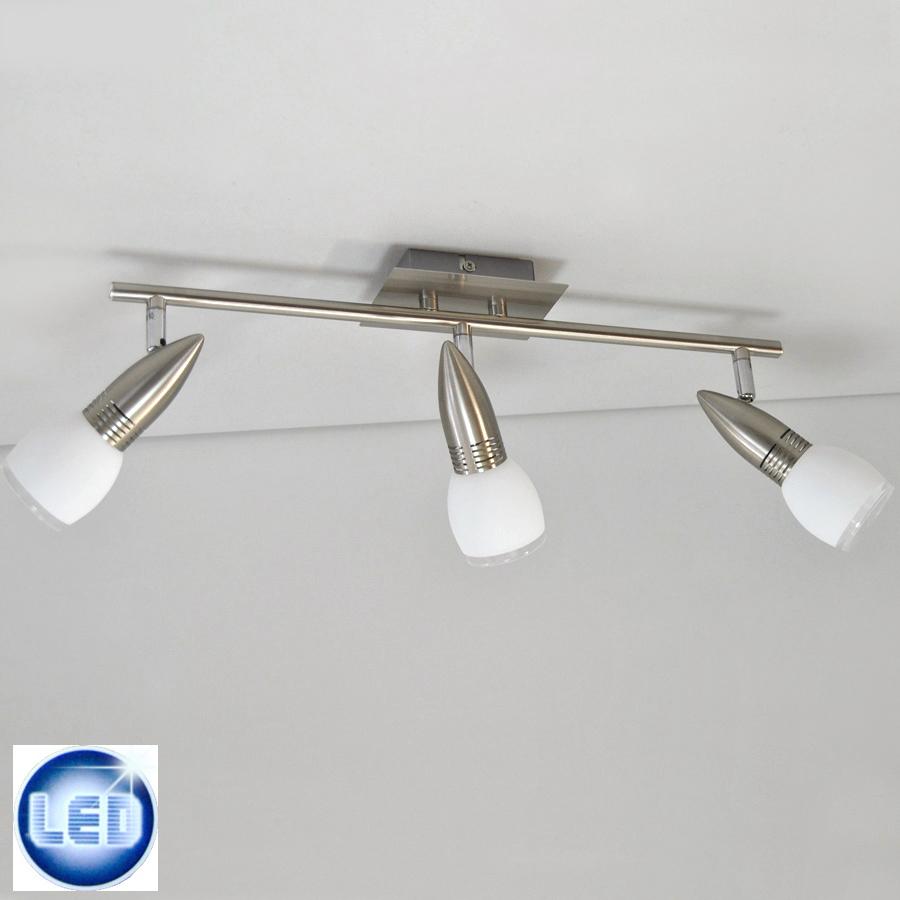 deckenleuchten led 3x5w deckenlampe strahler wohnzimmer beleuchtung led design ebay. Black Bedroom Furniture Sets. Home Design Ideas