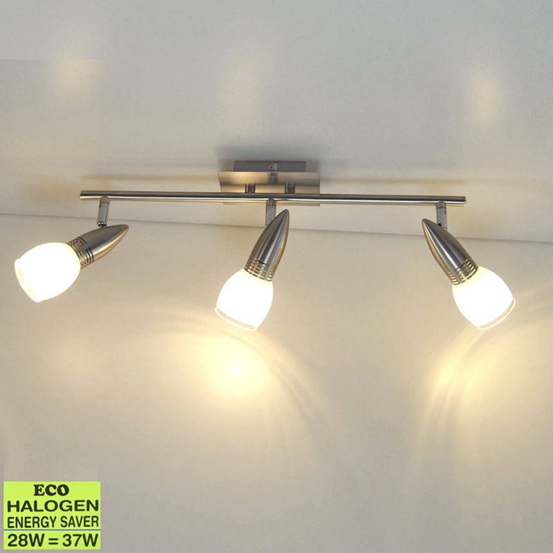 Deckenleuchte Briloner 52930714 mit 3x 33W G9 Eco-Halogen