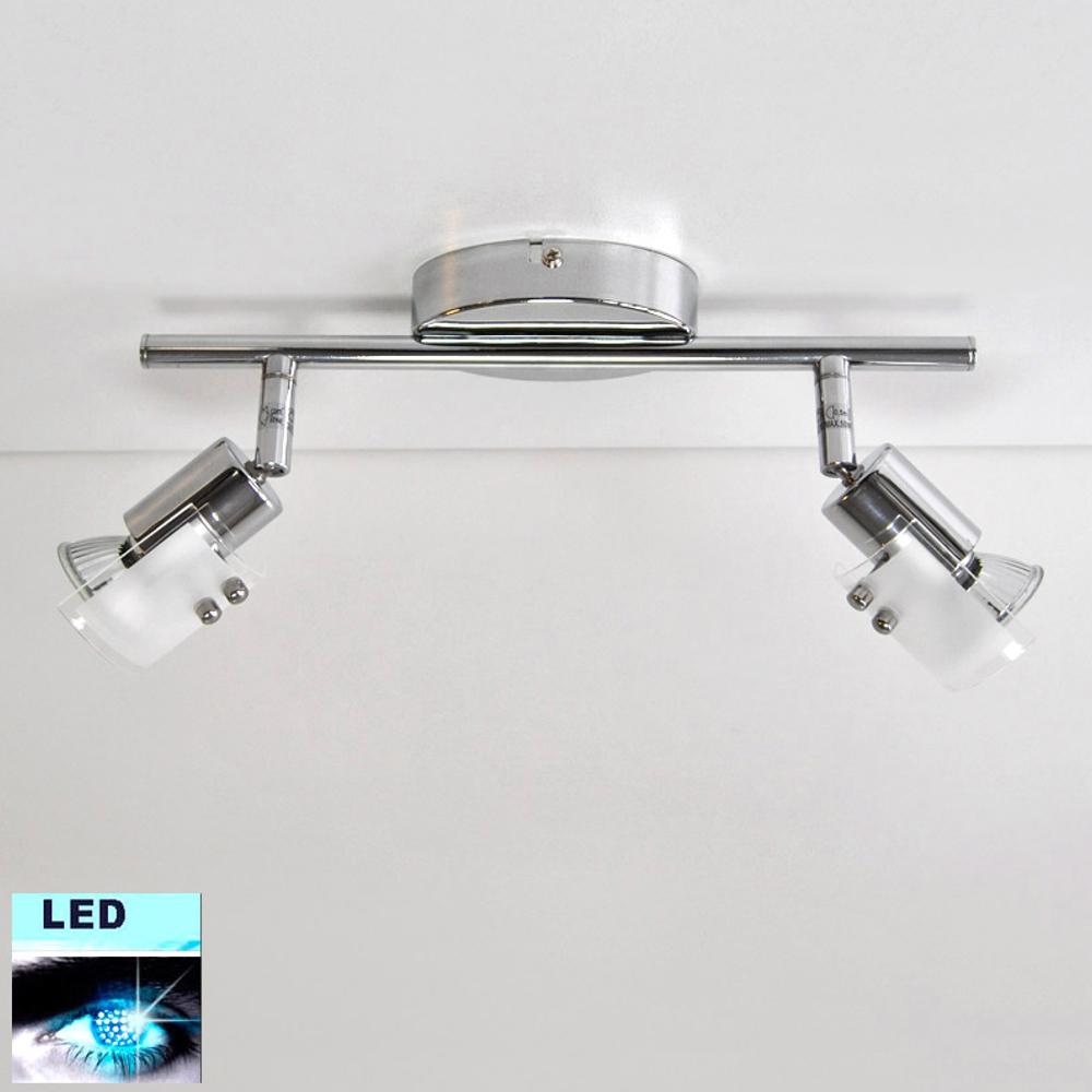 LED Deckenleuchte Darlux 47077932 GU10 Fassung  2x 5W Deckenlampe