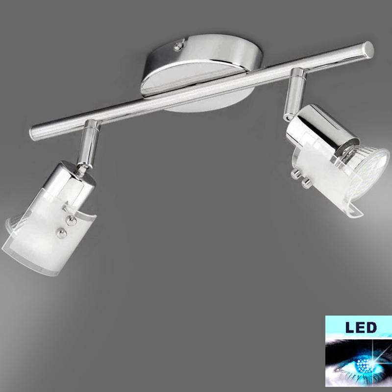 led deckenlampe wandleuchte power led strahler spot deckenleuchten 30cm chrom. Black Bedroom Furniture Sets. Home Design Ideas