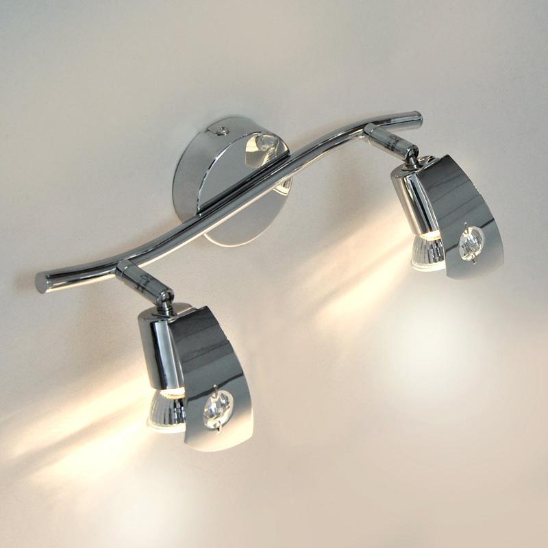 Deckenleuchte Wandleuchte Darlux 50603098 2x 3W GU10 Spiegellampe LED