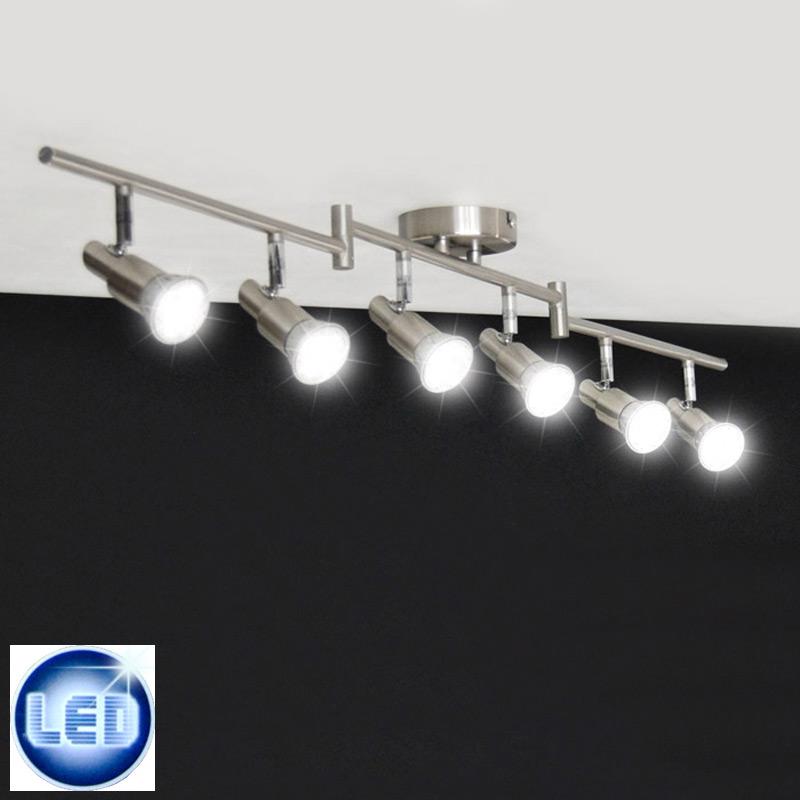 Led deckenleuchte 18w deckenlampe power strahler edelstahl for Led strahler deckenleuchte