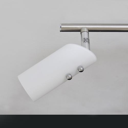 Plafonnier spots halog nes 3 flammig utilisable avec for Lampe plafond design