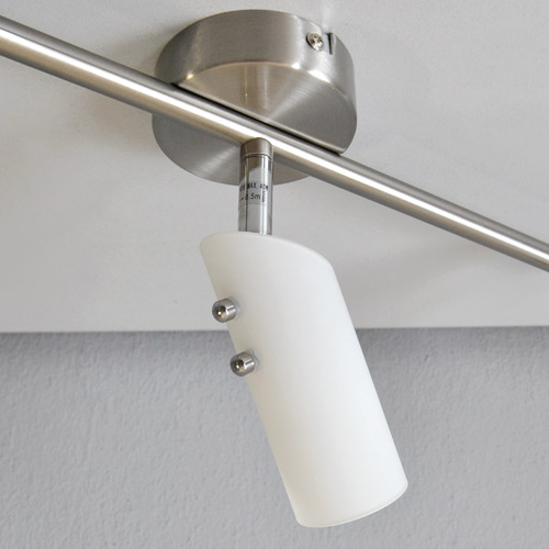 deckenleuchte deckenlampe halogen spots 3 flammig. Black Bedroom Furniture Sets. Home Design Ideas