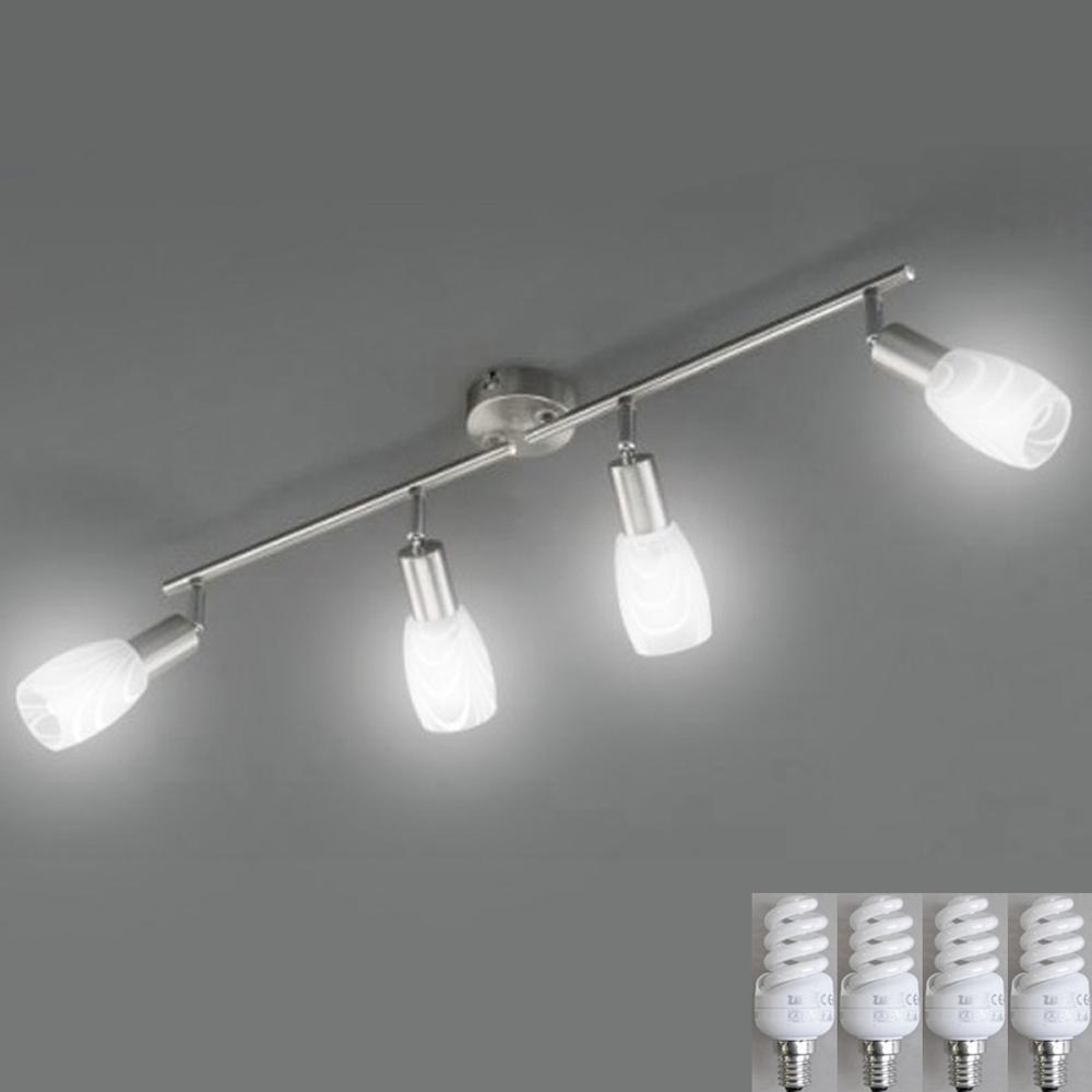 Deckenleuchte Deckenlampe E-14 Fassung, LED möglich, Briloner 3129-042