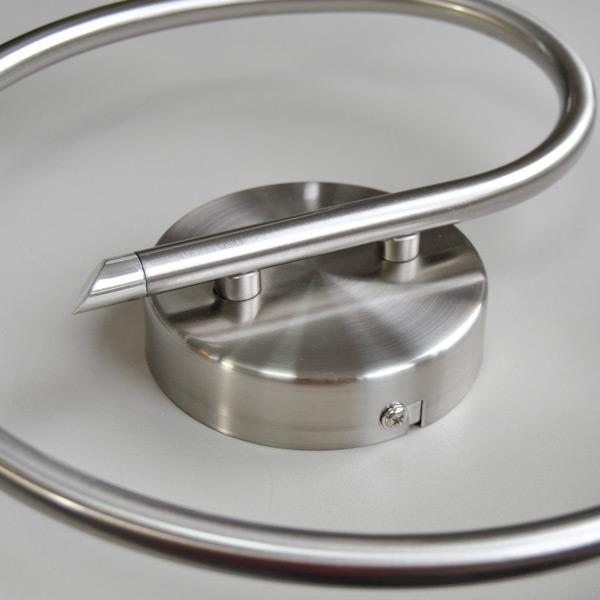 deckenleuchte rondell deckenlampe wei sparlampen oder led m glich edelstahl ebay. Black Bedroom Furniture Sets. Home Design Ideas
