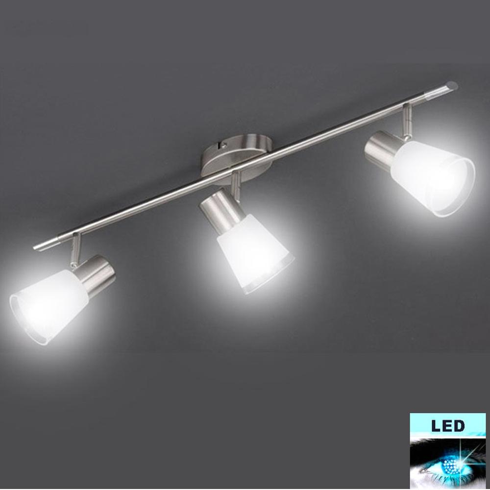 Deckenleuchte Briloner 3721.032 mit 3x 5W E14 LED Kugel
