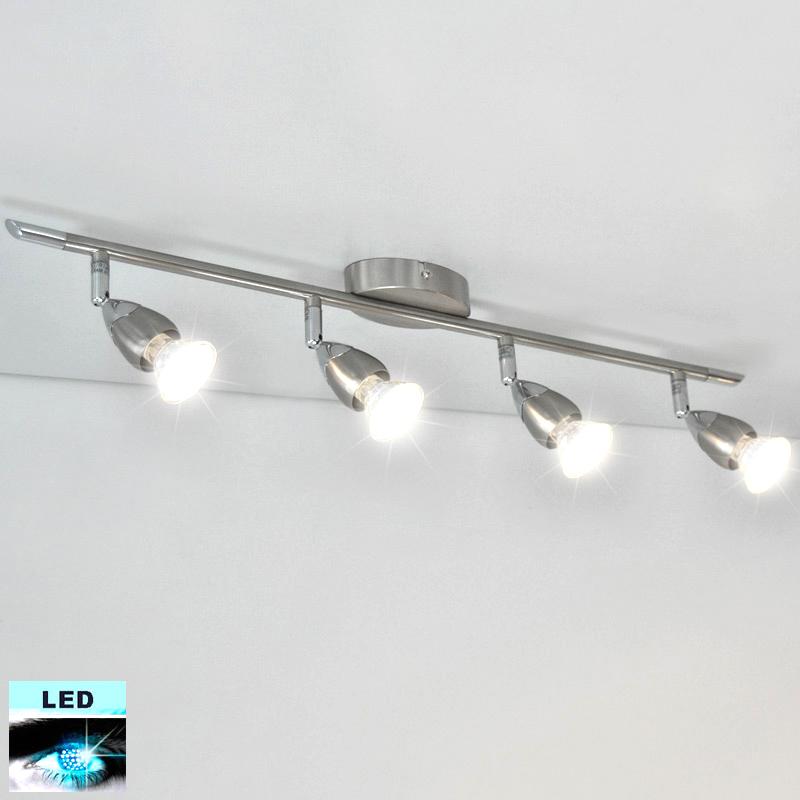 LED Deckenleuchte Briloner 42523430 mit 4x 3W GU10 LED