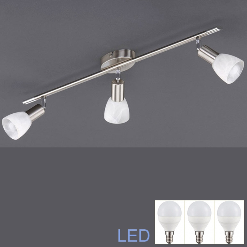 led deckenleuchte 3x5w power led deckenlampe spot leiste 650mm lichtschiene neu ebay. Black Bedroom Furniture Sets. Home Design Ideas