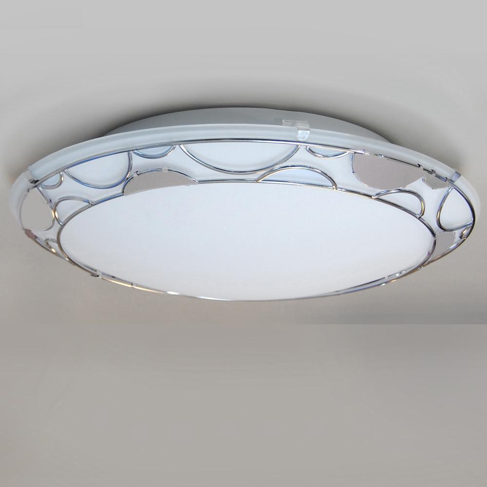deckenleuchte 40cm design deckenlampe ufo briloner led m glich wei mit dekor ebay. Black Bedroom Furniture Sets. Home Design Ideas