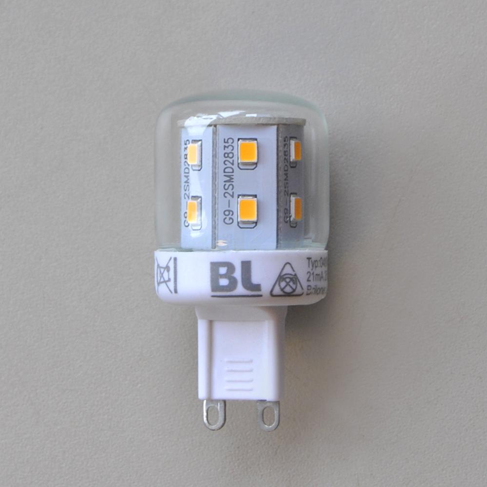 2,6W LED Energiesparlampe 0489-170 G9 Briloner Super A++