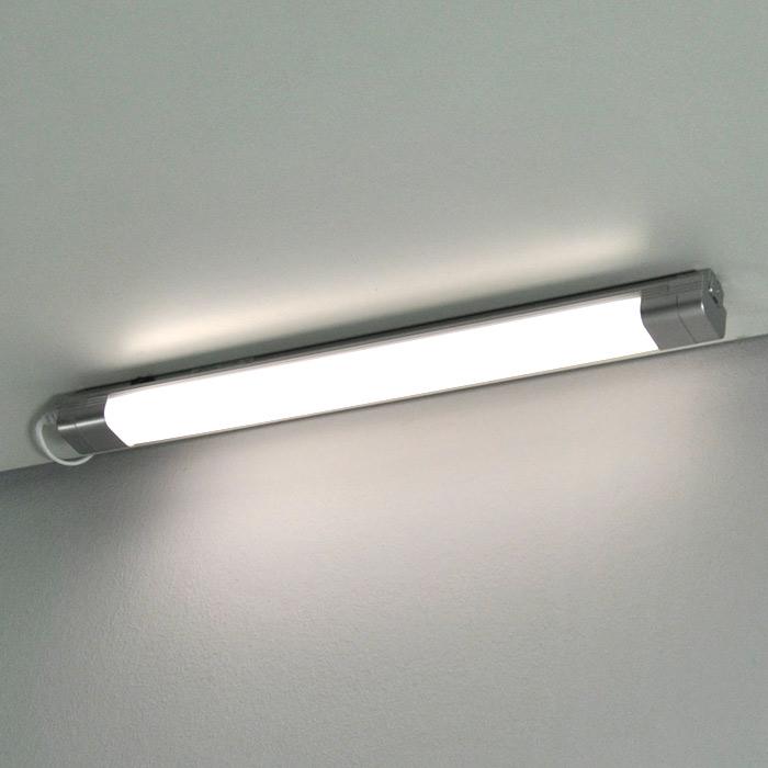 Unterbauleuchte 6405-134 Briloner Economytec 57cm Silber
