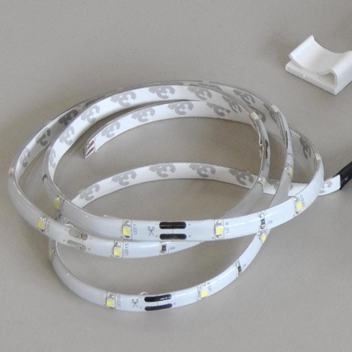 Led bandeau lumineux 1m luminaire pour meuble planchette - Bandeau lumineux led interieur ...
