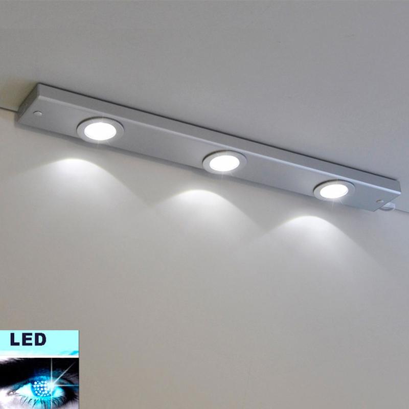 Lampada Led Sottopensile Luce Bagno da Cucina Barra Luminosa ...