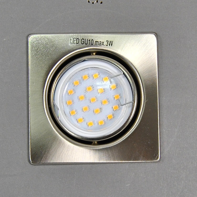 LED Einbauleuchte 3W Einbauspot IP23 EBL Quadro 7213-032 Briloner