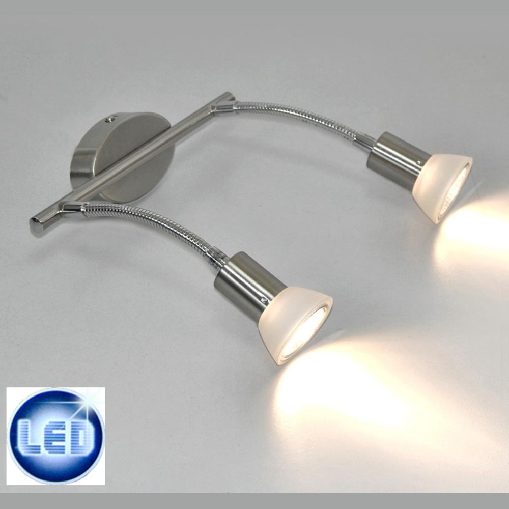 LED Spiegellampe 2x3W GU10 Darlux 50275971 Wandlampe Deckenlampe IP20