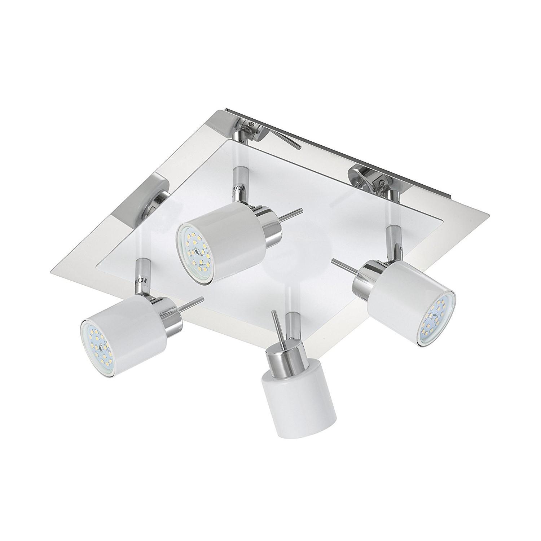 LED Deckenlampe Deckenleuchte 4x5W Darlux 52963967 WC Badlampe IP20